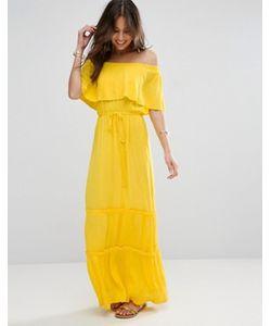 Asos | Платье Макси С Открытыми Плечами