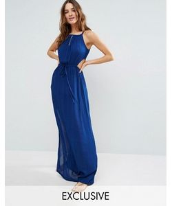 Akasa | Key Hole Maxi Beach Dress