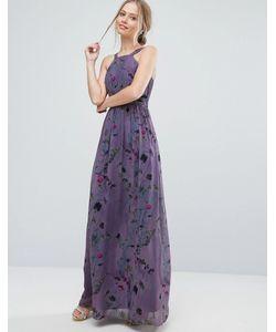 Little Mistress | Платье Макси С Цветочным Принтом