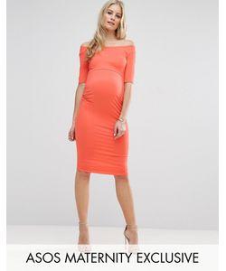 ASOS Maternity | Платье С Открытыми Плечами Для Беременных