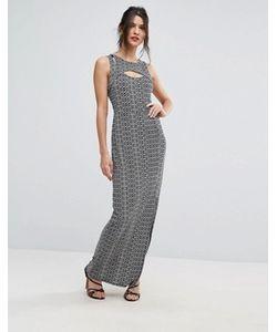 BCBGMAXAZRIA | Облегающее Платье С Принтом Bcbg