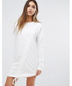 MISSGUIDED   Ruched Detail Sweat Dress