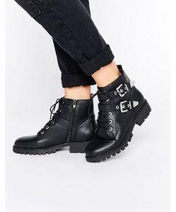 London Rebel | Ботинки В Байкерском Стиле С Металлической Отделкой