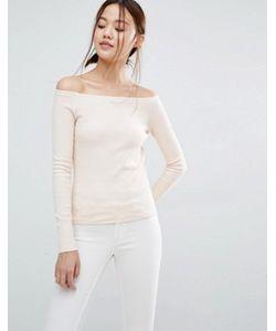 Vero Moda | Трикотажный Топ С Широким Вырезом