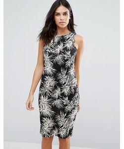 Jasmine | Платье-Футляр С Цветочным Принтом