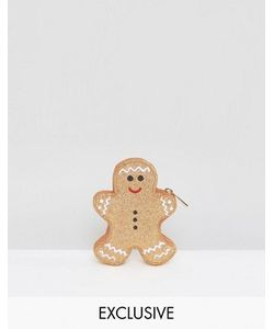 VALERY | Кошелек Для Мелочи В Форме Имбирного Человечка Exclusive Christmas