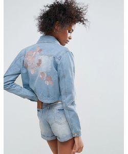 Urban Bliss | Джинсовая Куртка С Вышивкой Macy