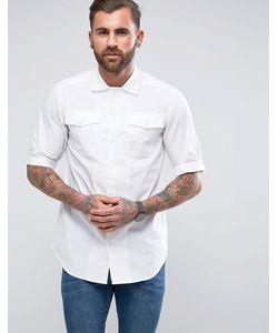 G-Star | Рубашка Прямого Кроя С Коротким Рукавом Landoh
