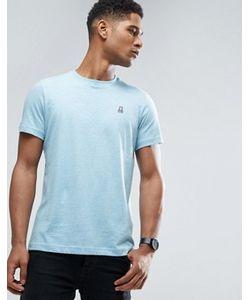 PSYCHO BUNNY | Crew Neck Marl T-Shirt