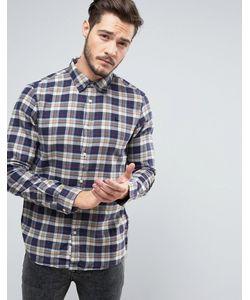 Jack Wills | Фланелевая Рубашка Классического Кроя В Клетку Salcombe