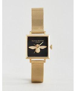 Olivia Burton | Часы С Квадратным Циферблатом И Пчелой