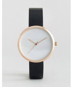 Asos | Часы С Тиснеными Полосками На Циферблате
