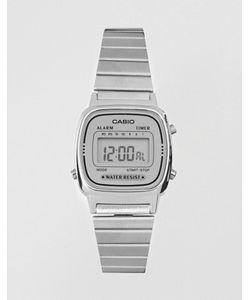Casio | Серебристые Цифровые Часы La670wea-7ef