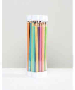 NPW | Цветные Карандаши И Точилка Oh K