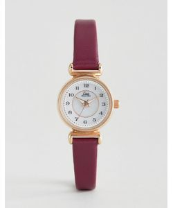 Limit | Berry Leather Watch 6202.37