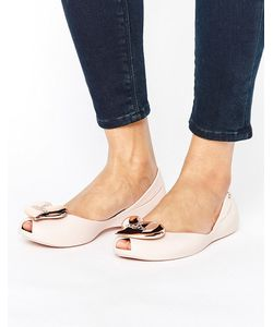 Vivienne Westwood for Melissa | Blush Matte Queen Flat Shoes