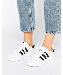 Adidas | Черно Кроссовки На Двойной Подошве Originals