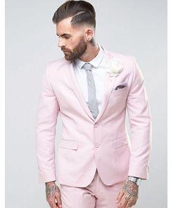 RUDIE   Супероблегающий Пиджак Розового Цвета
