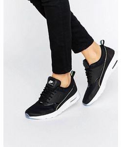 Nike | Черные Кроссовки С Голографическим Эффектом Air Max Thea
