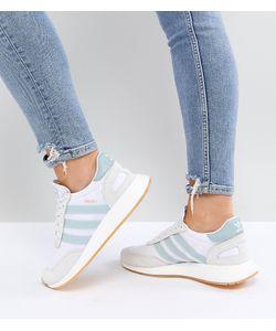 Adidas   Мятно-Белые Кроссовки Originals I-5923