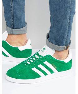 adidas Originals   Зеленые Кроссовки Gazelle Bb5477