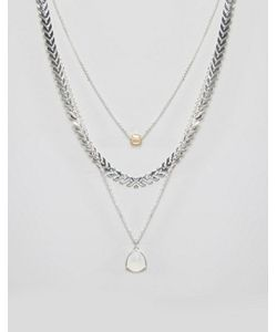 NYLON | Многослойное Ожерелье