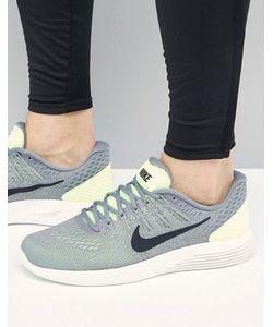 Nike Running | Кроссовки С Зеленой Отделкой Lunar Glide 8 843725-300