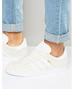 adidas Originals | Белые Кроссовки Gazelle Bb5475