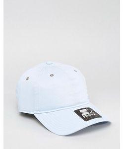 Starter | Голубая Бейсболка С Черным Логотипом