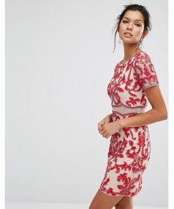 Frock and Frill | Декорированное Платье С Короткими Рукавами