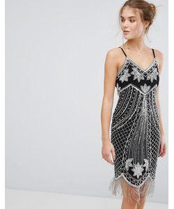 Frock and Frill | Платье Мини С Декоративной Отделкой