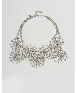 Regal Rose | Ожерелье-Воротник С Паутиной Halloween Dolores