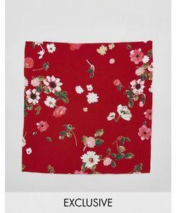 Reclaimed Vintage | Платок Для Пиджака С Цветочным Принтом Inspired
