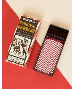 Temerity Jones | Carnival Birthday Candles