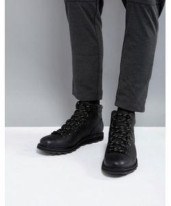 Sorel | Черные Водонепроницаемые Походные Ботинки Madson