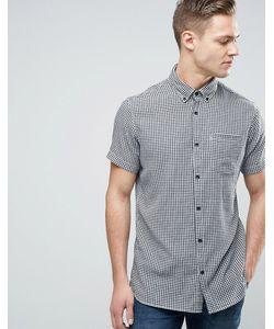 Jack & Jones | Узкая Рубашка В Клеточку С Короткими Рукавами И Карманом Jack