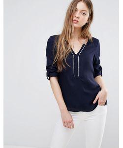 Vero Moda | Рубашка С Контрастной Отделкой