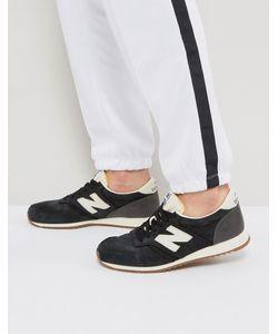 New Balance | Черные Кроссовки 420 Gum U420lbl