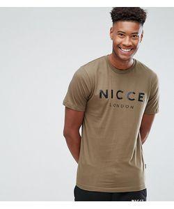 Nicce London's | Зеленая Футболка С Логотипом Tall