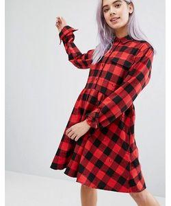 Lazy Oaf | Платье-Рубашка В Клетку