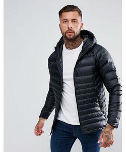 Nike | Черная Пуховая Куртка С Капюшоном 866027-010