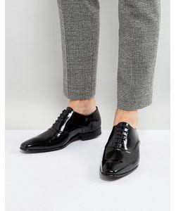 PS PAUL SMITH | Черные Блестящие Оксфордские Туфли Starling