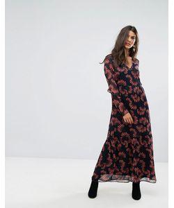Vero Moda   Платье Макси С Цветочным Принтом