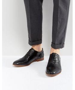 Kg Kurt Geiger   Черные Кожаные Ботинки Oliver