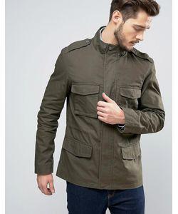 Jack Wills | Куртка Оливкового Цвета Kirkconnel