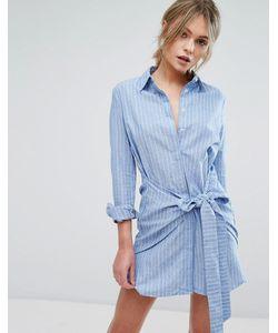 Unique 21 | Платье-Рубашка С Поясом Unique21