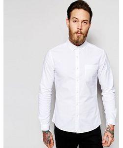 Asos | Приталенная Оксфордская Рубашка