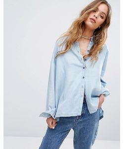 Rvca | Свободная Рубашка Из Шамбре