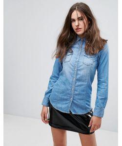 Pepe Jeans London | Джинсовая Рубашка Periwinkle