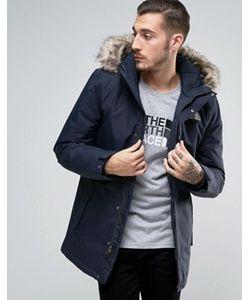 The North Face   Темно-Синяя Утепленная Куртка Zaneck